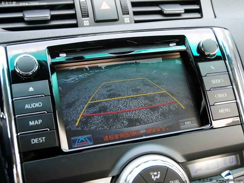 丰田锐志1l款车载dvd接线图