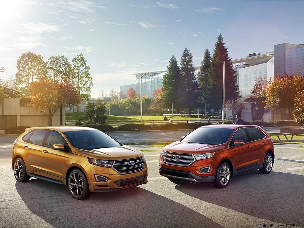 福特全新一代锐界发布 新一代福特锐界年底国内首展 国产高清图片