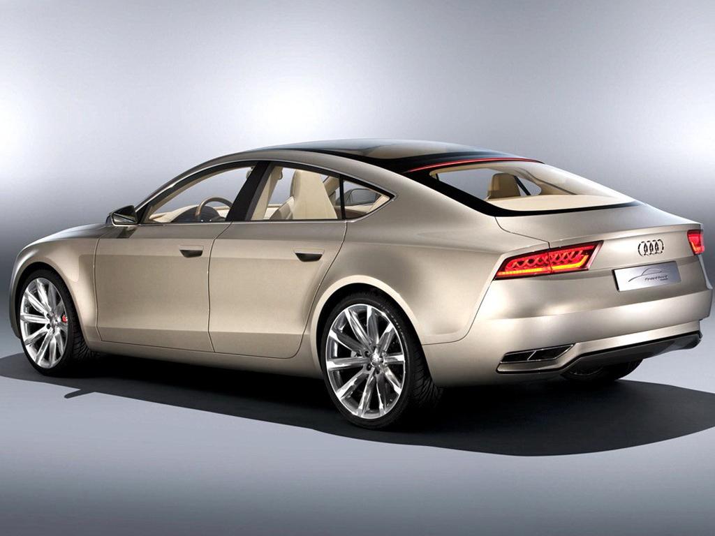 a7原型车 奥迪4门coupe概念车亮相车展 高清图片