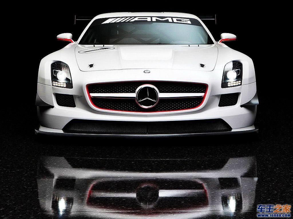 白色 奔驰amg级高清图片