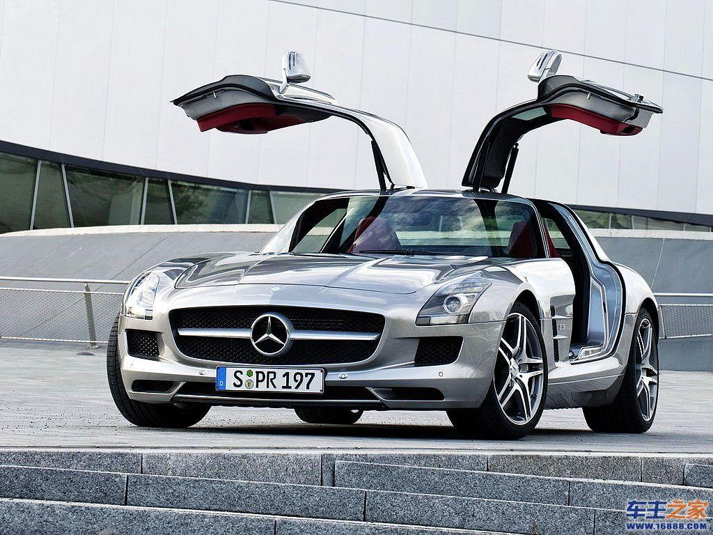 复古设计全新benz奔驰sls amg登陆德国 7高清图片