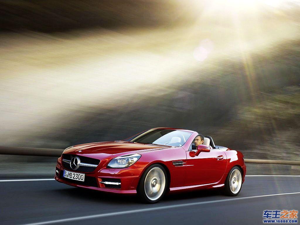 2012款奔驰slk 配备新slk amg将推全新自然吸高清图片