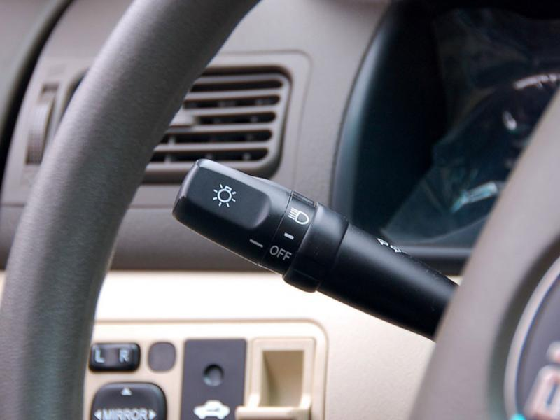 比亚迪f3r灯光控制杆 比亚迪f3r内饰图片– 车主 高清图片
