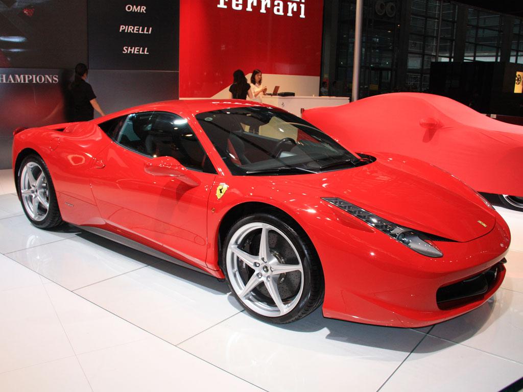 法拉利458外观图片 高清图片