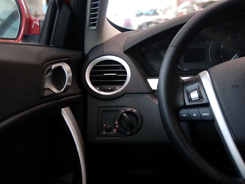 黑色榮威550空調調節按鈕 榮威550內飾圖片 – 車主之