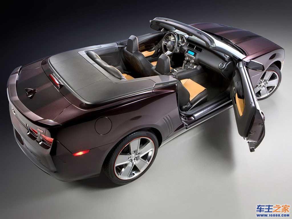 普通版雪佛兰camaro 敞篷版发布 雪佛兰camaro约售高清图片