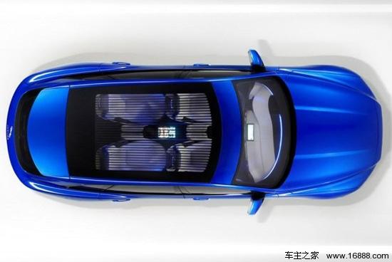 捷豹C-X17概念车即将首发法兰克福车展