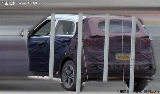 曝北京现代新小型SUV谍照 或2014年上市高清图片