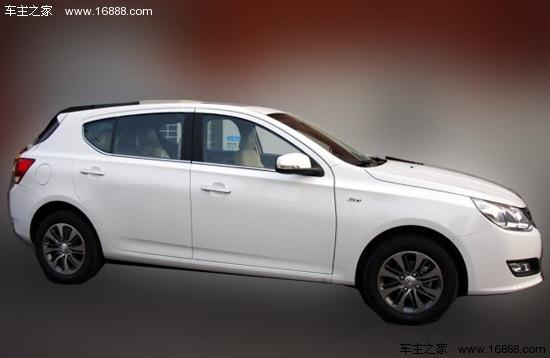 通用五菱推新款掀背车型 定名为 宝骏610高清图片