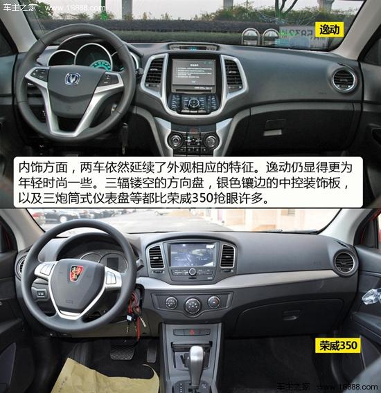 斗心记长安新款逸动/荣威350对比导购s60沃尔沃13款图片