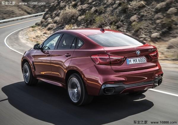 现款宝马x6新增车型上市 售98.36万元
