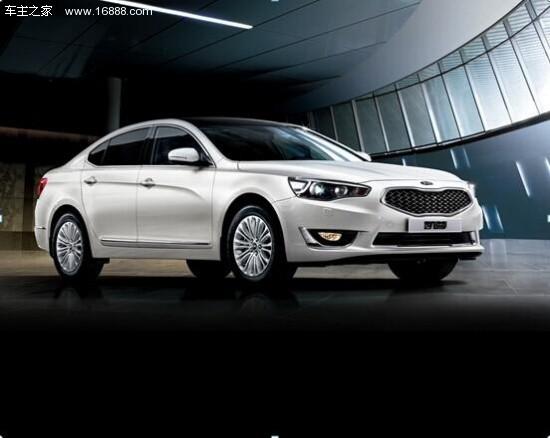 进口起亚K7凯尊高级轿车排名第一高清图片