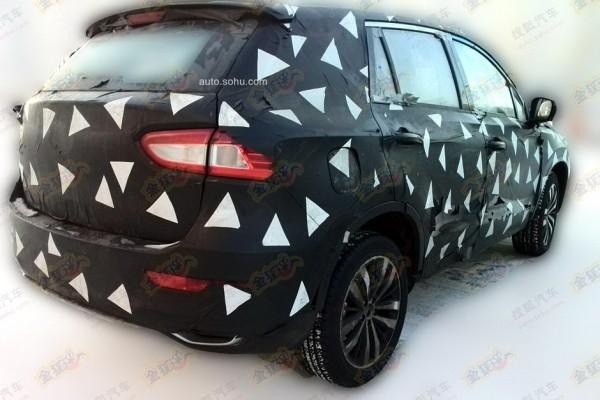 广汽传祺GS4预告图发布 将北美车展亮相高清图片